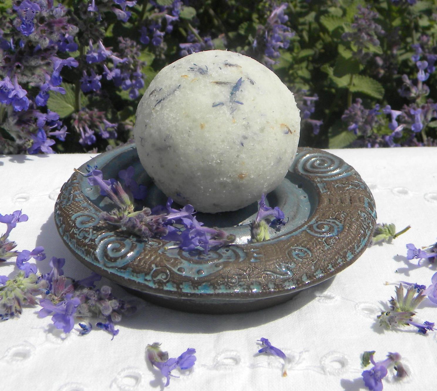 Badekugel  Lavendel