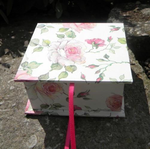 Geschenkschachtel Wildrose